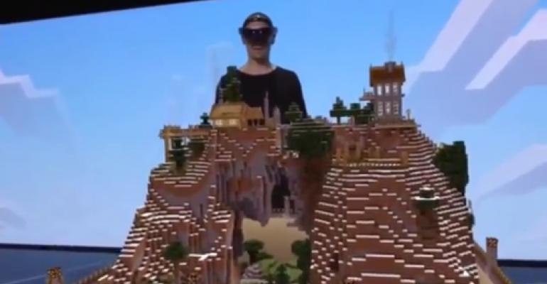 Next-Gen AR? Watch Microsoft's Remarkable HoloLens Demo