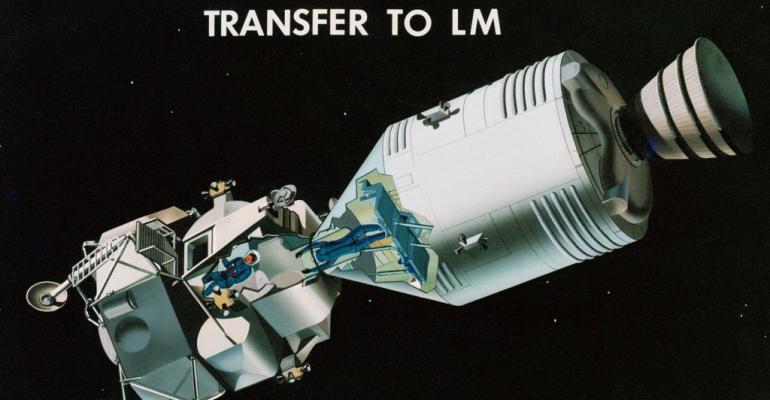 Apollo 11: Day Three in Space
