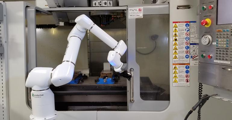 Production Robotics, robots, cobots, COVID-19, coronavirus, manufacturing, plastics, packaging, no programming