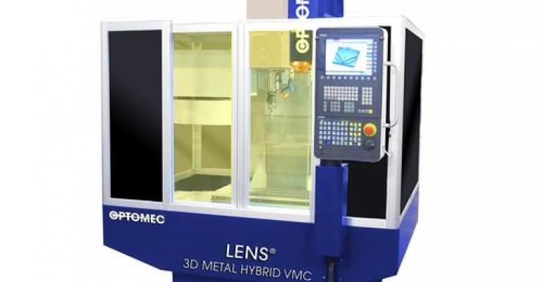 Metals AM Tech Joins CNC in Lower-Cost Hybrid Machines