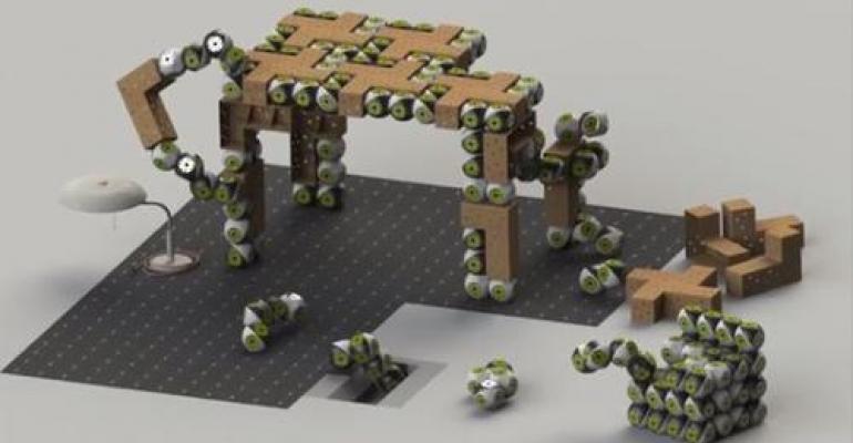 Video: Roombots Transform Into Reconfigurable Furniture