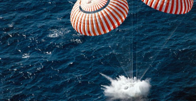 Return to Earth and Splashdown
