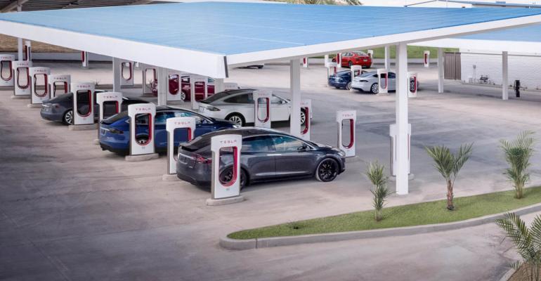 Tesla Introduces High-Rate V3 Supercharger