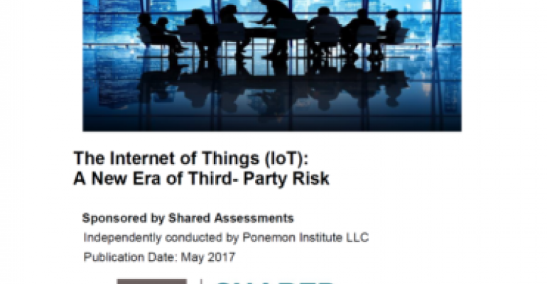 Ponemon Institute, The Santa Few Group, IoT, cybersecurity, risk analysis
