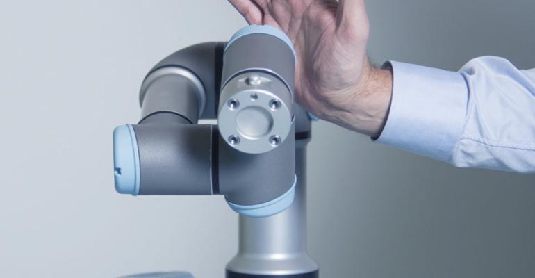 Universal Robots, collaborative robots, ROI, automation