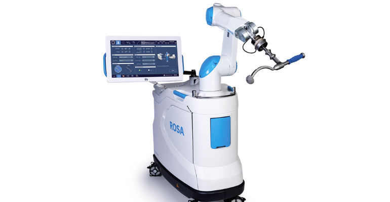 ROSA Hip for robotic-assisted hip replacement