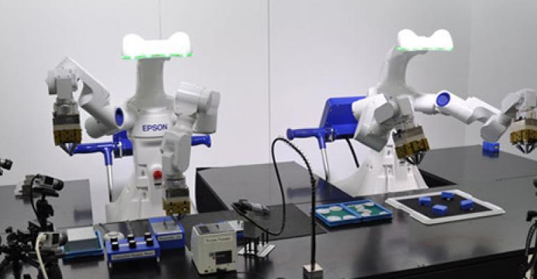 Epson Robotics, automation, systems integrators, automation processes, robots
