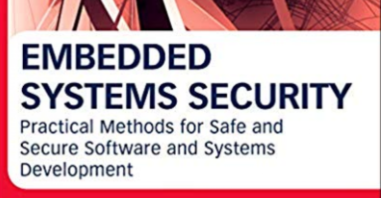 Embedded systems, security, embedded systems architecture, software structure and design, books, ARM, microcontrollers