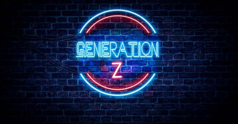 Neon sign Generation Z