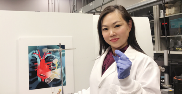 Tiny Device Harvests Energy from the Heart