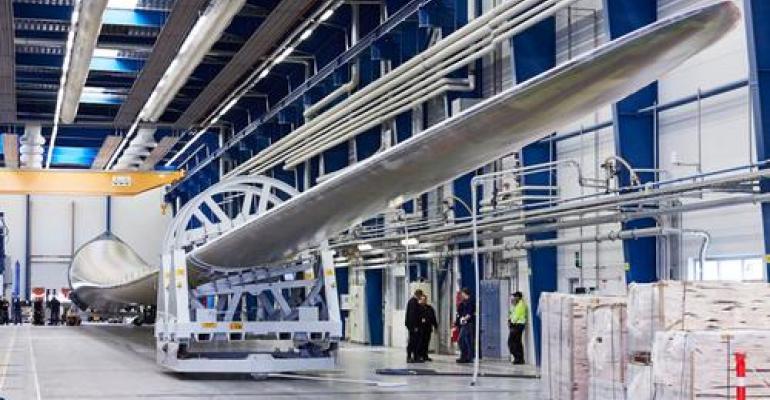 Companies Unveil World's Longest Wind Turbine Blade