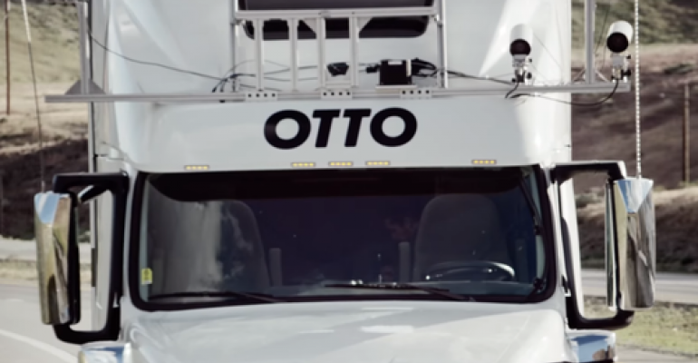 Startup Otto Demos the Feasibility of Self-Driving Trucks