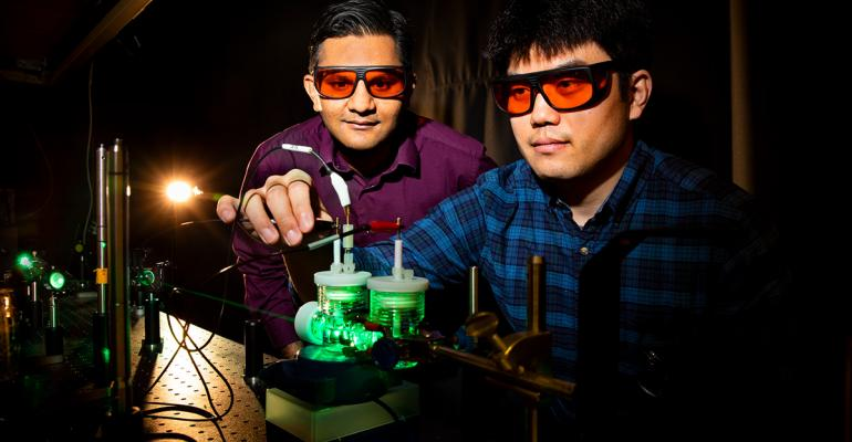 Artificial Photosynthesis Turns Carbon Dioxide Into Liquid Fuels