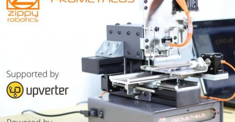 3D Printer-Like Prometheus Machine Creates Circuit Boards in Minutes