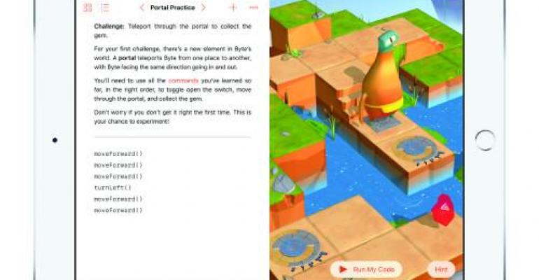 Apple's Swift Playgrounds Teaches Kids to Code