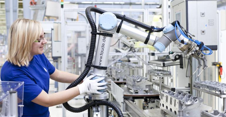 Universal Robots, MiR, Taradyne, robotics, robots, automation, small manufacturers
