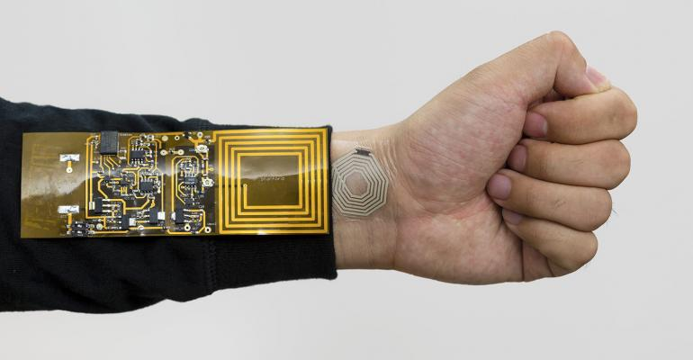 Polymer Electrolyte, Battery Stretch for Wearables, Stanford University, thumbnail-sized, flexible lithium-ion device, small devices