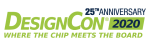 DesignCon 2020 25th anniversary Logo