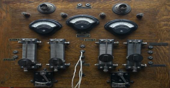 Beautiful Vintage NIST Measurement Devices