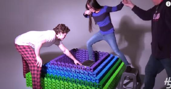 Friday Funny: Watch This Colorful Domino Demolition