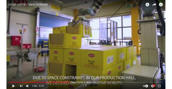 Unilever Lipton Tea Plant Gains 1-Year Payback on Palletizing Cobots