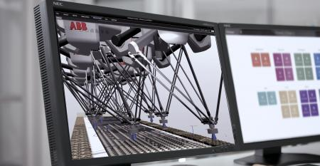 digital twin, robots, ABB Robotics, packaging, PickMaster Twin, commissioning, change overs
