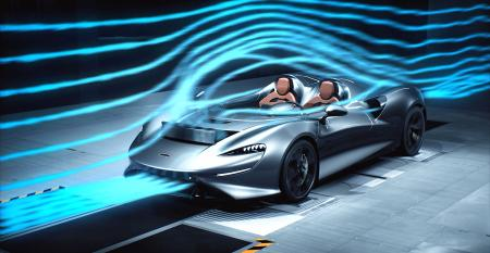 McLaren Reveals the Secrets of Staying Dry with no Windshield