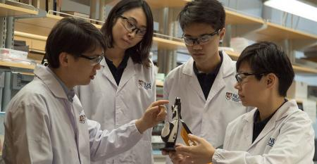 robot skin, artificial nervous system, Singapore University of Technology and Design, flexible sensor skin